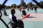 The Triumph Foundation prepares for the annual wheelchair baseball tournament