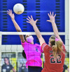 West Ranch Girls' Volleyball Claims Foothill League Title After Besting Hart in Four Sets