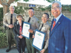 Two Santa Clarita Sheriff's Deputies Recognized for Dedication to Public Safety