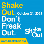 Oct. 21: City Encourages Residents to Participate in the Great California ShakeOut