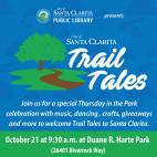 Santa Clarita Public Library Introduces New 'Trail Tales'