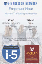 Zonta SCV To Host Human Trafficking Roundtable