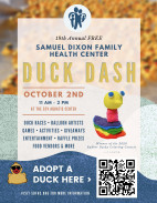 October 2: Annual return of the Rubber Duck Dash