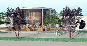 Artist's rendering of the new, $6.7 million Culinary Arts Facility at College of the Canyons, which will house the  Institute for Culinary Education.
