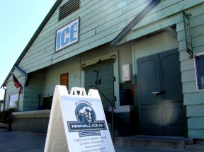 A new list identifies Newhall Ice Co. as Santa Clarita's #1 most historic building.