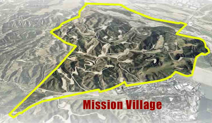 The 4,055-home Mission Village community would be the second phase of Newhall Ranch, following the initial 1,342-home Landmark Village development west of Interstate 5.