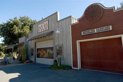 Dojo Studio Exterior at Rancho Deluxe