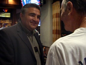 "Acosta on the night of the 2012 primary election when he challenged Rep. Howard ""Buck"" McKeon for Congress."