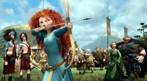 "Screenshot from ""Brave,"" co-directed by CalArts alums Mark Andrews ('93) and Brenda Chapman ('87)"