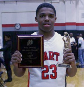 Lewis Stallworth, tournament MVP