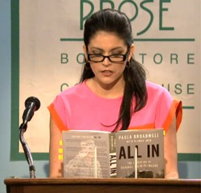 "In an ""SNL"" skit, Strong plays Paula Broadwell, the biographer of Gen. David Patraeus."