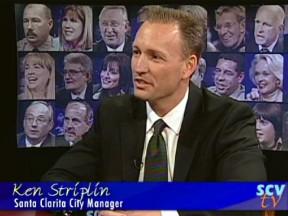 Santa Clarita City Manager Ken Striplin