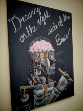 Bowman student art piece