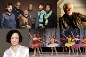 California State University, Northridge's Valley Performing Arts Center spring 2013 season launches later this month. The lineup includes the Monterey Jazz Festival on Tour; singer, songwriter and producer Kenny Rogers; actress, singer and dancer Bebe Neuwirth; and the Russian National Ballet Theatre.