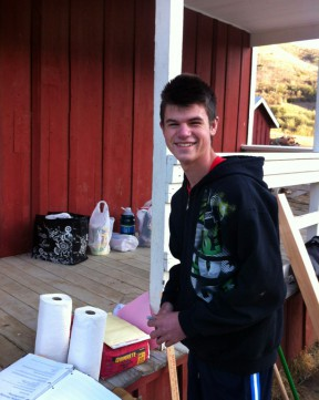 A generation or two later, SCVi Charter School student Evan Decker spearheads a weekend cleanup project at Mentryville's Felton School.