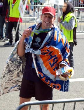 Totten finishes the 2012 L.A. Marathon