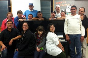 The Sunshine Singers Choir, a choral group of teenagers and young adults with developmental disabilities run by the Music therapy Wellness Clinic, is one of the programs supported by a new grant to the clinic.