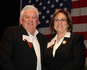 2013 SCV Man & Woman of the Year: Steve Sturgeon and Elizabeth Hopp | Photo by Gary Choppe