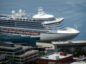 Sapphire Princess in Seattle, 2013 | Photo by Leon Worden