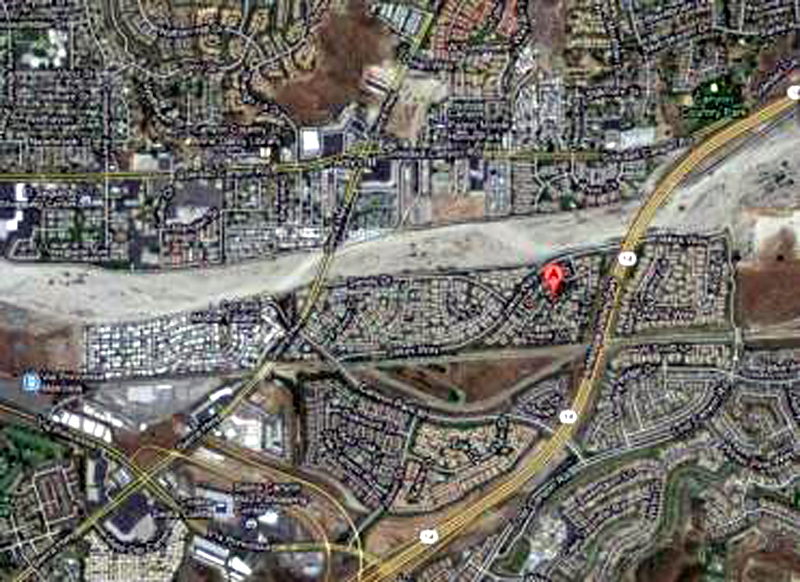 Location of stabbing
