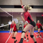 Sophomore Kyra Banko was recently selected to the USA Volleyball High Performance A2 indoor team.