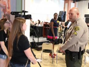 One-on-one with Deputy Josh Dubin.