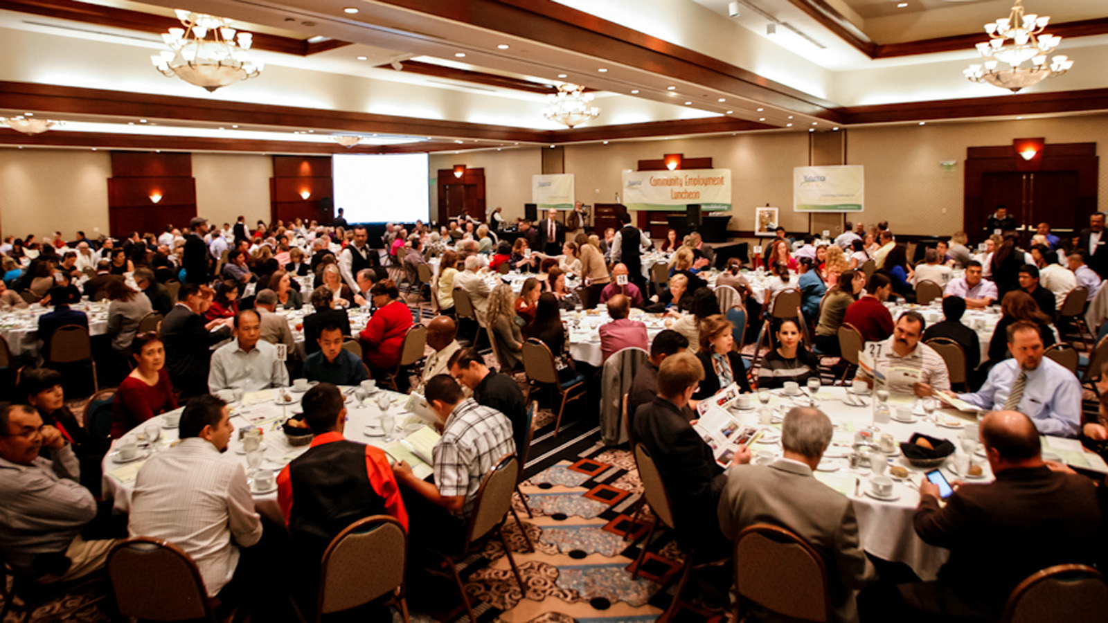 More than 300 people attended 2013 Community Employment Luncheon, honoring the employment partners of Tierra del Sol Foundation, Nov. 15 at the Woodland Hills Hilton.