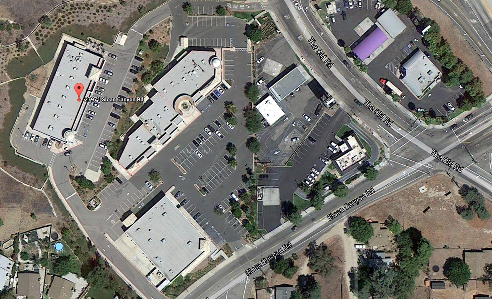 Castaic Library location