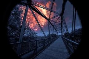 """Fireworks over the Bridge"" by Richard Hammond"
