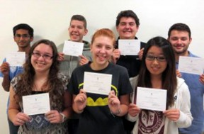 National Merit Scholars from AOC.