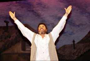 Levine as Tevye in 1995 | Photo courtesy of George Cummings