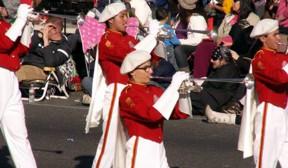 Rose Parade Welcomes Eight Santa Clarita High School Band Studen