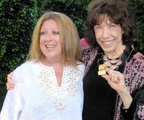 Elayne Boosler with Lily Tomlin