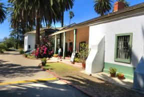 Del Valle Adobe at Rancho Camulos