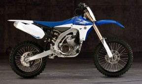 A 2013 Yamaha YZ450F. Photo: Yamaha Motor Sports