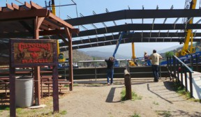 Carousel Ranch Raises The Roof Over Arena Tuesday