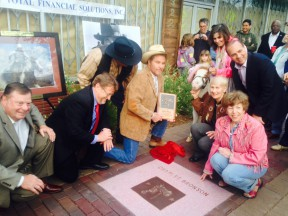 Steve McQueen, Charles Bronson Inducted Into Walk Of Western Sta