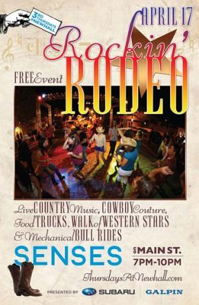 'Rockin' Rodeo' SENSES To Kick Off Santa Clarita Cowboy Festival