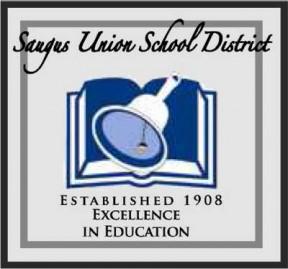 Saugus Union School District logo tile
