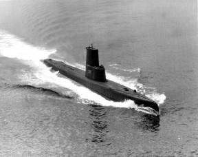 Menhaden (SS377) in the 1960s.