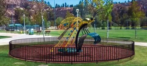 Saugus Butterfly Sculpture Central Park