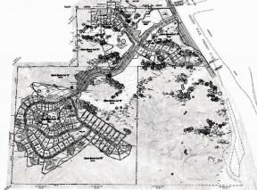 Lyons Canyon Ranch tentative tract map (courtesy of Stan Walker)
