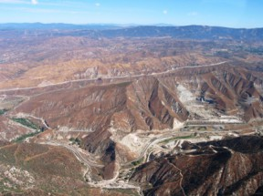 Soledad Canyon mining area | Photo: SAFE Action for the Environment