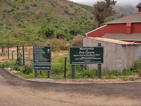 Mentryville entrance
