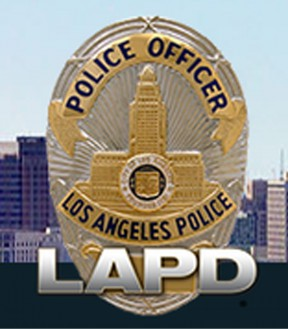 Los Angeles Police Department LAPD badge