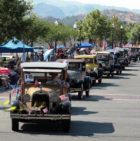 4th of July on Main Street in Old Town Newhall