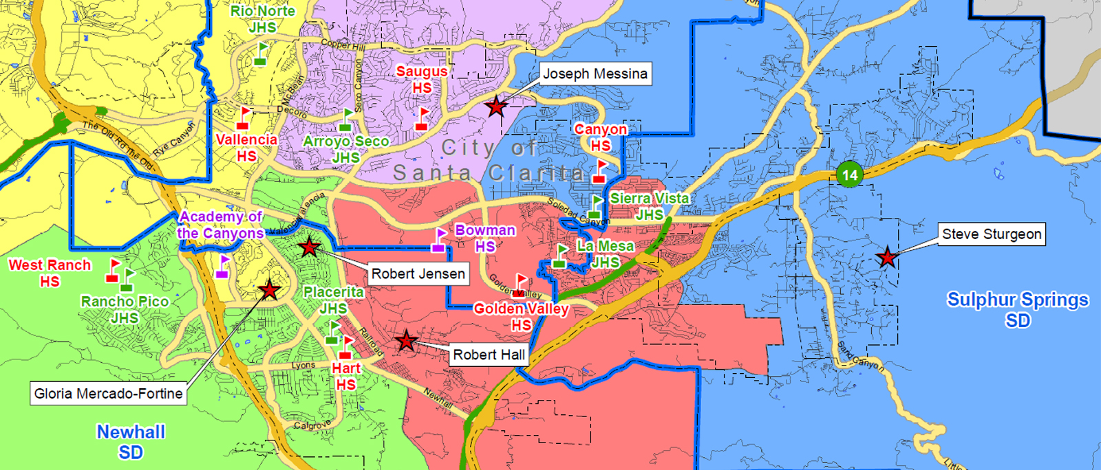 voting district map hart school district tuesday may 12 2015
