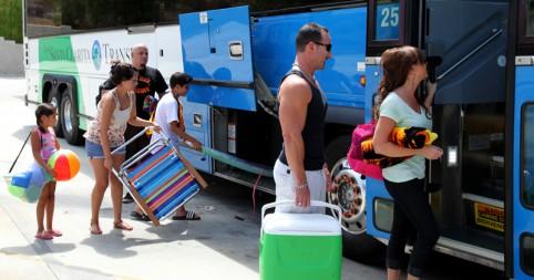 Santa Clarita Transit Summer Beach Bus