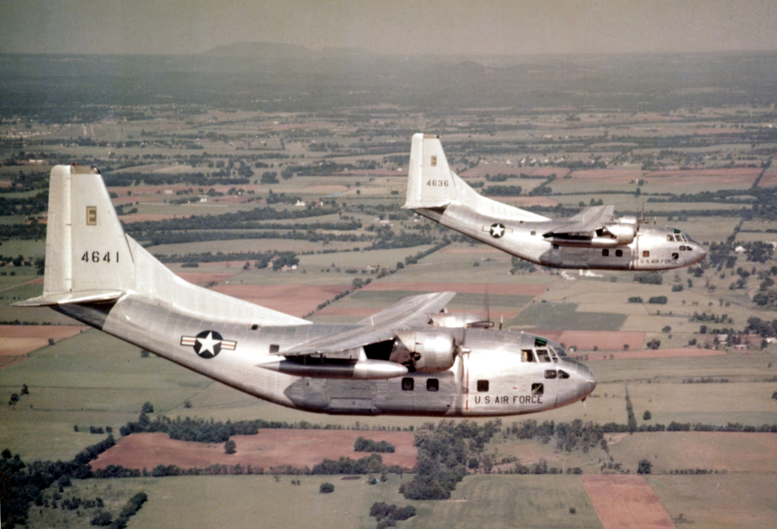 C-123BoverUS1950s