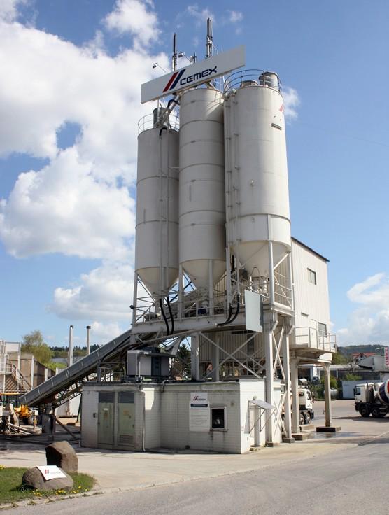Cemex silos file photo